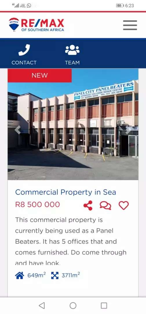 COMMERCIAL PROPERTY BY THE SEA