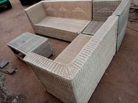 Brand new hand made woven couches
