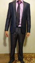 Костюм +рубашка и галстук