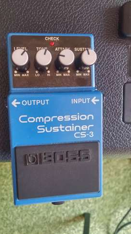 Boss CS-3 compression and sustainer pedal