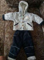Продам очень теплый детский костюм!