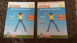Prima A 1 i A 2. Język niemiecki gimnazjum. Podręcznik i ćwiczenia +DC