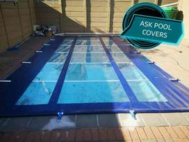 PVC pool covers and CLEAR pool covers