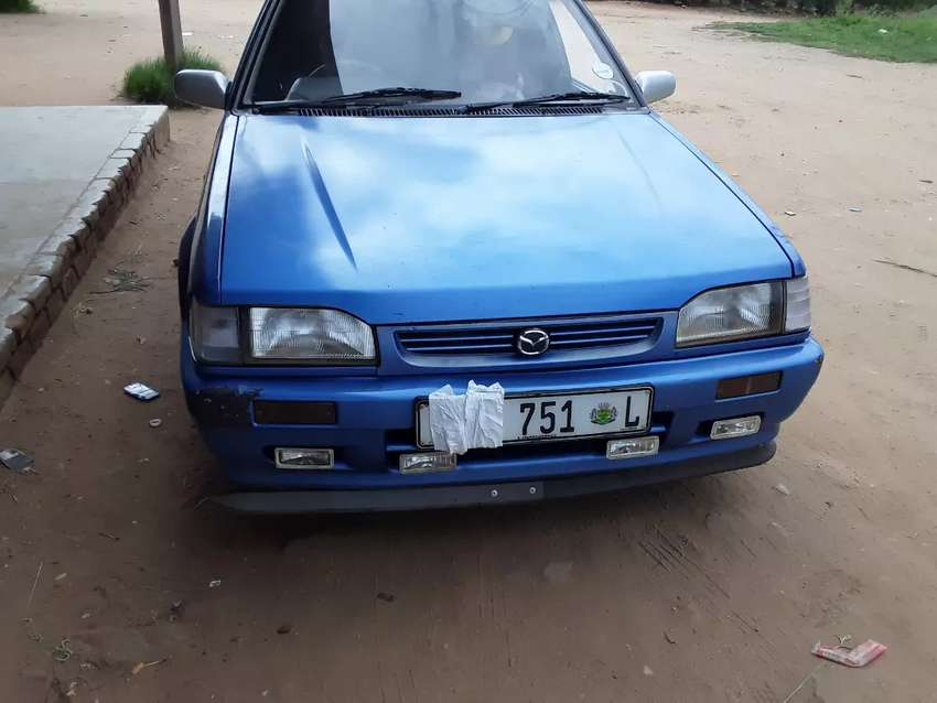 Mazda 323 1.3 sting R37000 or swap with bakkie 0