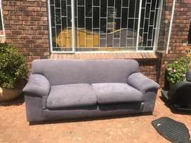 Beautiful grey 3 seater couch for sale