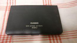 Casio 490 банк данных dc-7500rs электронный органайзер ,записная книга