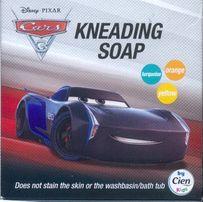 DISNEY CARS MYDŁO mydełko dla DZIECI jak CIASTOLINA 3 kolory nowe