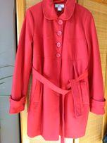 Płaszcz czerwony z Bonprix nowy rozm 40