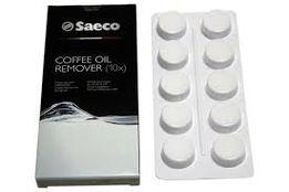 Таблетки для чистки от кофейных масел/жиров Saeco Philips, 10 шт