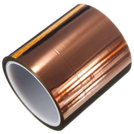 Скотч термоскотч Kapton 60мк 5-300мм 33м Koptan каптонт термостойкий Черкассы - изображение 4