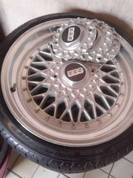 Bbs rims nd tyres