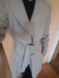 Piękny długi płaszcz