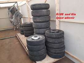 Hyundai and Kia Spare rims and Tyers