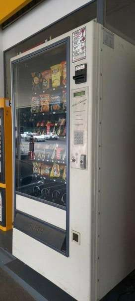 Beautiful Vending machine in the best condition.