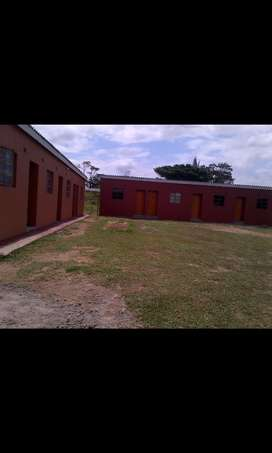 Single rooms to rent at Mzingazi