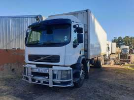 2009 VOLVO FE240 WITH CLOSED BODY TAILLIFT 14TON