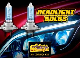 Replacement headlight globes assorted sizes and brands