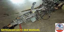 IMPORTED USED MITSUBISHI 6G72 4X4 MANUAL GEARBOX FOR SALE AT MYM AUTOW