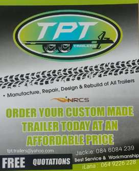 order your custom made trailer today at an affordable price