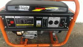 Like new. Schultz 5.5kw generator. 25L. NOT NEGOTIABLE
