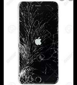 IPhone screen Repairs Done on the spot!