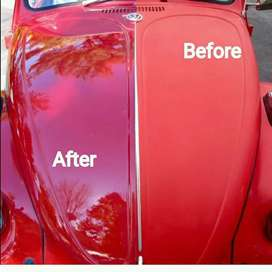 Car buffing and waxing