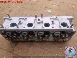 Imported used OPEL 8V CYLINDER HEAD Engines for sale at MYM AUTOWORLD