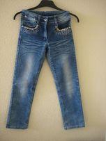 Брюки джинсы на девочку, р.130