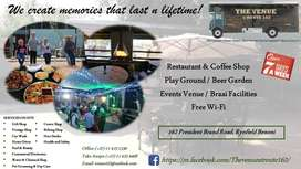 Restaurant, Coffee Shop and Events Venue for Sale