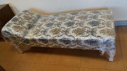 Stara odnowiona kanapa łóżko otomana sofa szezlong leżanka tapczan