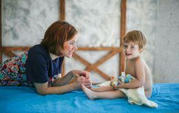 Врач! Детский массаж, грудничковое плавание. Краниосакральная терапия