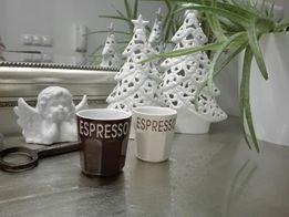 2 małe filiżanki do kawy espresso