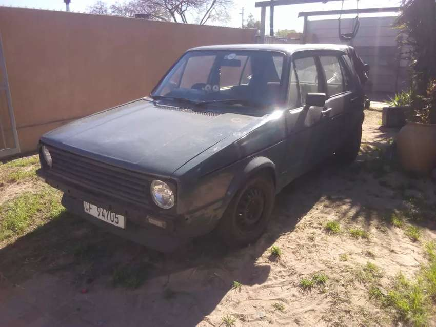 Vw Golf 1600 5 speed for sale 0