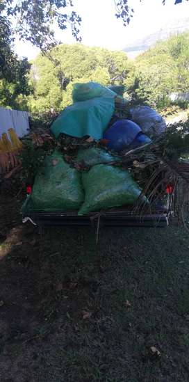 Garden Rubbish Removal/Tree felling/Black bags Removal