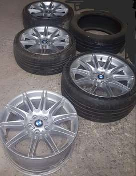 19 inch Original BMW M sport rims and tyres