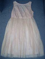 Sukienka pudrowy róż - Stradivarius