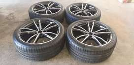 BMW MSport Rims & Tyres