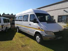 Mercedes Sprinter fitted with Lexus V8 Motor