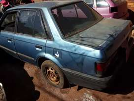 Mazda 323 spares. F6 engine and gearbox available. Papers available