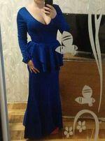 Шикарное вечернее платье на выпускной в пол
