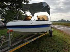 Fishing/Ski Boat 60cc Mercury Motor(Bigfoot)