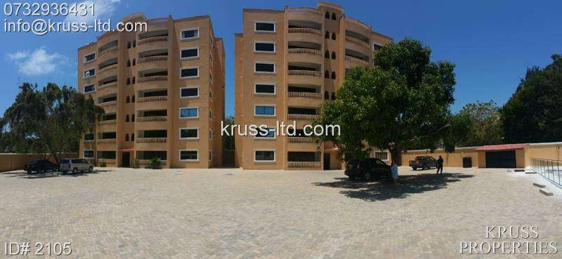 3br newly built apartment for rent in old Nyali ID 2105 0