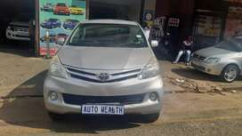 Toyota Avanza 1.3 manual 2012 for SELL