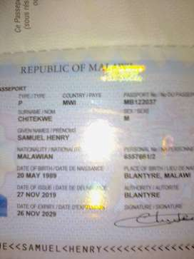 Am Malawian born again Christian looking for any job