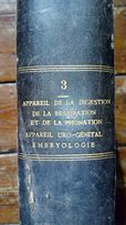 Франция 19 век.Антикварная книга-учебник.Медицинская литература