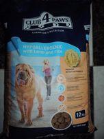 Клуб 4 лапы Корм гипоаллергенный для собак 12 кг