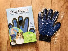 True touch перчатка для вычёсывания шерсти кошки собаки животные