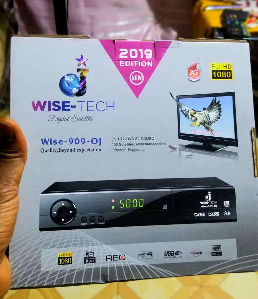 WISETECH QUALITY DECODER FULL HD 1080P S2,T2 0