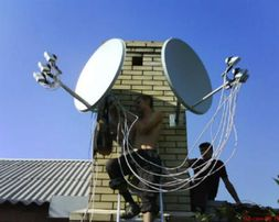 Установка, настройка и ремонт спутниковых антенн в Одессе и области