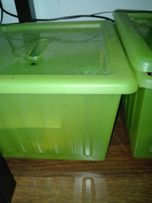 3 Zielone Pudełka